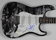 Justin Bieber Autograph Signed Guitar Strat Fender JSA Full Letter COA