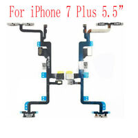 """For iPhone 7 Plus 5.5"""" Power On Volume Side Button Mute Silent Switch Flex Cable"""