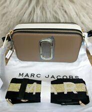 MARC JACOBS Snapshot Bag Brown Camera Bag Crossbody Wide Removable Strap