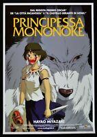 Werbeplakat Prinzessin Mononoke Hayao Miyazaki Animation Zeichentrick P01