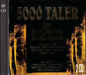 5000 TALER  DIE SCHÖNSTEN BASS-ARIEN, 2-CD-Album