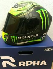 HJC RPHA 11 Pro CAL Crutchlow replica Black/Green Monster Helmet