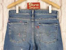 Levis Blue 1969 606 Style Paint Splat Zip Slim Tapered Jeans W30 L32 £135 NEW