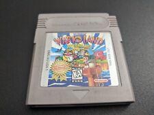 Wario Land Super Mario Land 3 PLC Nintendo Game Boy Original EXMT authentic