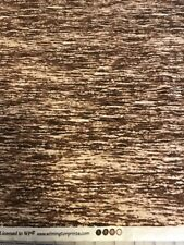 Winter Whispers Bark Texture Brown quilters cotton Fabric by yard 44""