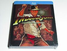 NEW INDIANA JONES THE COMPLETE ADVENTURES BLU-RAY STEELBOOK LIMITED EDTIION