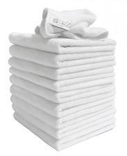 1 X White Exel Microfibre  Cloth 40 x 40 cm Home Car Garden Medium Duty Kitchen