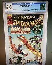 Amazing Spider-Man #17 CGC 6.0 2nd Appearance Green Goblin Marvel Comics 10/1964