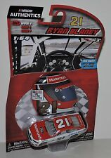 2017 RYAN BLANEY #21 MOTORCRAFT NASCAR AUTHENTICS 1:64 W/HELMET MAGNET