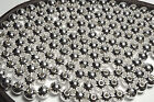 50 ea STERLING SILVER FILLED 6mm SEAMLESS Round Beads