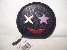 NWT Coach F11730  Coin Case Wallet in Refined Calf Leather with Star