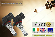 2x HB3 9005 Xenon Gas OEM 12v Headlight Fog High Low Beam Halogen Bulbs Car Bike