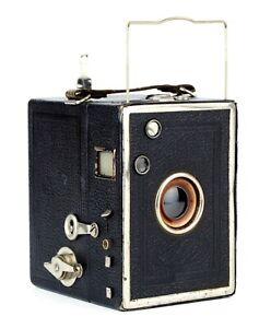 EMIL HOFERT DRESDEN Boxkamera EHO BOX 172 Format 4.5x6 Objektiv DUPLAR 1:11 RAR!