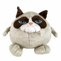 "Ganz Grumpy Cat Ball 9"" Plush Stuffed Animal Soft Whiskers Hard Eyes HGC22984 3+"