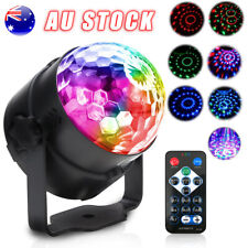 USB RGB LED Disco Light Ball DJ Party Effect Strobe Remote Auto Sound Activated