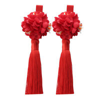 Girl Hairpin Tassel Flower Headdress Hairpin Princess Hair Accessories Q