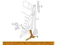 KIA OEM 2016 Sorento Front Seat Belt-Buckle Tensioner Left 88831C6500