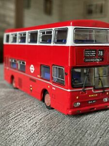 Britbus,scania Metropolitan,LONDON TRANSPORT model Bus,unboxed Bargain!!