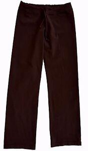 prAna Breathe Brown Stretch Long Yoga Pants Womens Size Small (S)