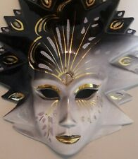 Venetian Mask from early 90's. Vintage Original Mask. Excellent Condition