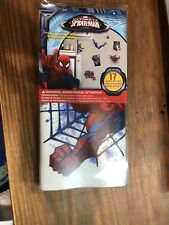 Marvel ULTIMATE SPIDER-MAN 17 WALL DECALS Comic Classic Spiderman Stickers Decor