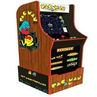Pacman 40th Anniversary Edition Arcade1Up Gaming Cabinet Preorder Ships Now New