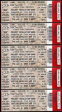 Linkin Park Tickets Projekt Revolution 5 Rare Unused Concert Saint Louis MO