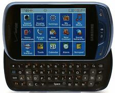 Samsung Brightside SCH-U380 Verizon Touchscreen Slider Smart Phone BLUE 128MB B