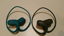 2 - Sony Walkman Nw-Ws413 Blue 4Gb Sports Wearable Mp3 Blue and Black