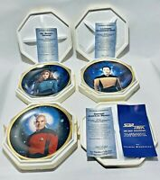 Vintage 3 Star Trek Hamilton Collection , Mint w/ Certificate of Authenticity