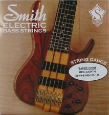 KEN SMITH TCRML-6 TAPER CORE STEEL BASS STRINGS, MEDIUM LIGHT GAUGE 6's - 28-125