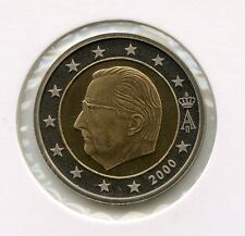 BELGIEN 2000 Euro Münzen 50 Cents PP Proof Polierte Platte