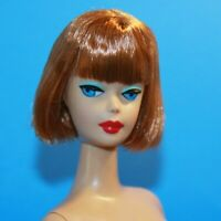 HTF Barbie AMERICAN GIRL Titian COPPER Hair NUDE Doll Vintage Reproduction REPRO