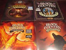 BLACK COUNTRY COMMUNION ORIGINAL 4 RELEASES S/T TWO AFTERGLOW & BCCIV 7 LP SET
