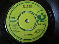 """The Banned – Little Girl - UK 7"""" Harvest – HAR 5145  1977"""