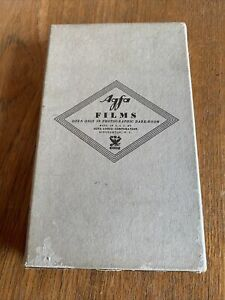 Sealed Agfa Films Photographic Paper Sensitive Plenachrome 12 Sheets 3.25x5.5in