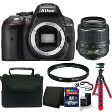 Nikon D5300 24.2MP CMOS Digital SLR Camera with 18-55mm Lens + Accessory Kit
