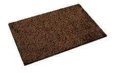 William Armes Dandy Fiji Shaggy Deep Pile Rug Washable Mat Brown 120x67cms