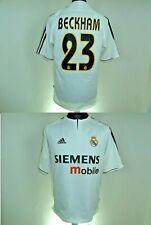 Real Madrid Home football shirt 2003 - 2004 Soccer JERSEY Beckham 23 Size Medium