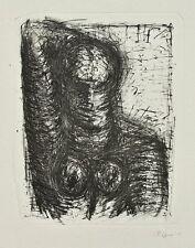 Lothar Böhme - Weiblicher Akt - Lithographie - o. J.