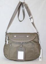 Authentic Marc Jacobs Quartz Grey Nylon Crossbody Bag M0014625