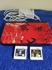 Nintendo 3DS XL Pokemon X & Y Red Edition Bundle!