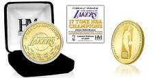 Los Angeles Lakers 17-Time Champions Bronze Mint Coin