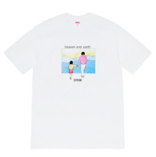 Supreme t-shirt Heaven and Earth Tee - White - Medium - Nuova -  Originale