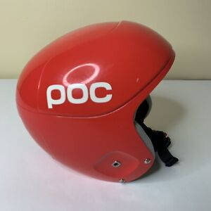 POC Skull Orbic X Ski Snowboard Race Helmet Red Small 53/54