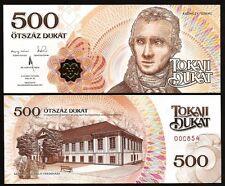 HUNGARY LOCAL CURRENCY 500 TOKAJI DUKAT 2015 2016 UNC