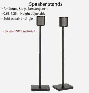 Satellite Speaker Stand for Sonos One SL Play 1 3 SONY RT5 ZR9  Samsung N950 B&W