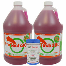 Outdoor Wood Boiler Water Treatment Rust Inhibitor- 2 ProTech 300 & Test Kit