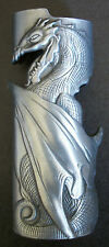 Mystic Cigarette Cigar Pewter Lighter Case Dragon Gothic Bottle Opener Biker
