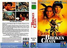 "VHS - "" The Broken CHAIN "" (1993) - Pierce Brosnan - Eric Schweig"